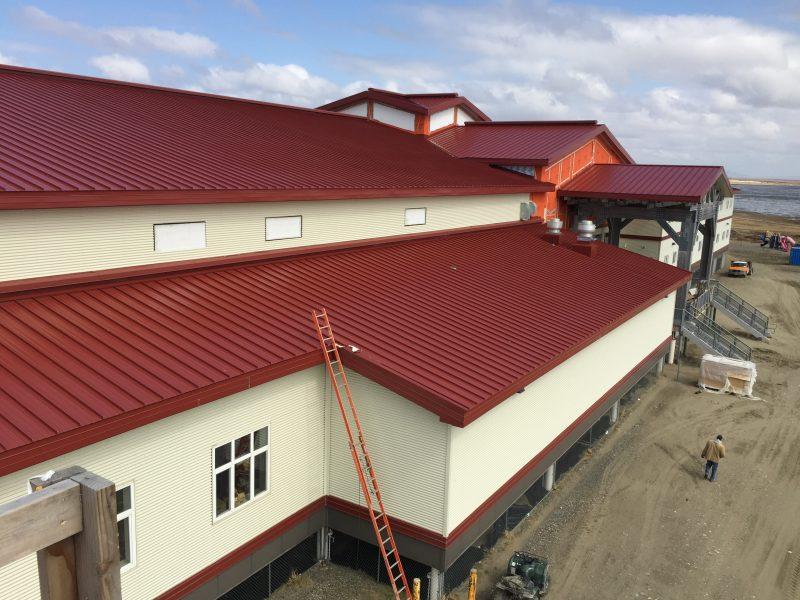 3hooperbayschool Interior Alaska Roofing