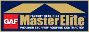 GAF Master Elite installer